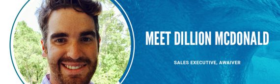 Meet Dillion McDonald – AWaiver Sales Executive